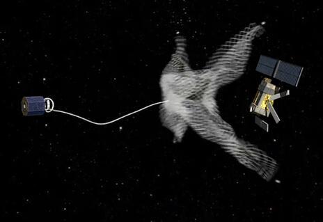 欧洲航天局研究利用渔网捕捞卫星