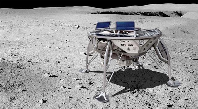 以色列登月艇17年登月 志夺谷歌2000万大奖