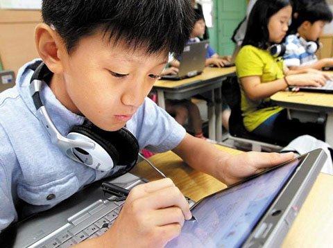 韩国拟全面采用电子教科书 为学生配平板电脑