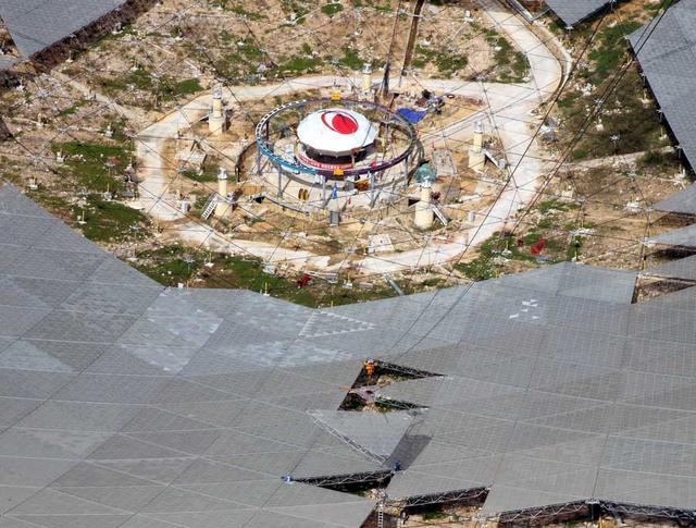 观天巨眼:全球最大射电望远镜馈源舱成功升舱