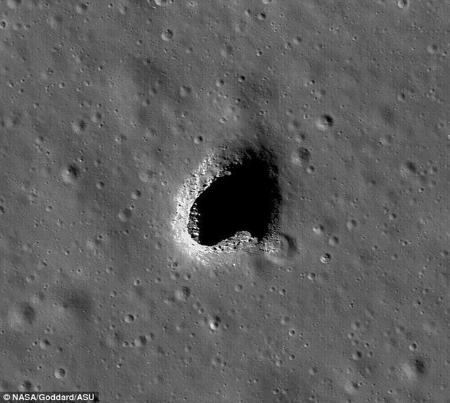 未来人类月球基地可建在地下熔岩管道