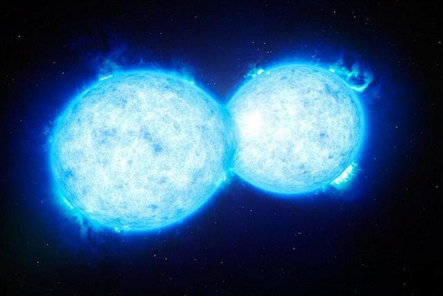 """科学家发现""""死亡之吻"""":双星系统正在合并"""