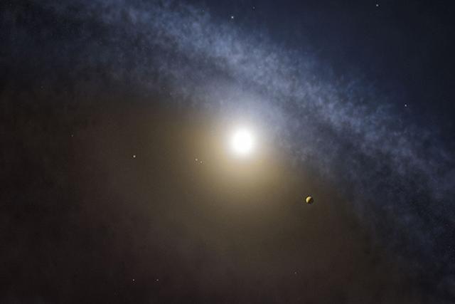 科学家发现正在形成的气态行星