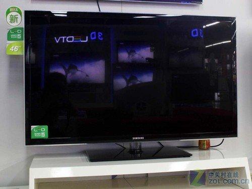 三星46吋液晶TV降1900元 支持以旧换新