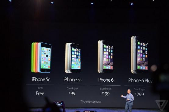 苹果发布两款大屏iPhone:9月19日发售