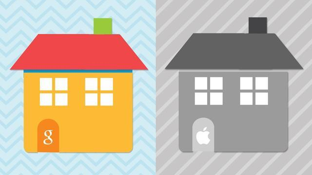 苹果智能屋与谷歌智能屋 你想住哪间?