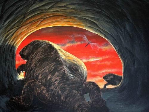 摩洛哥发现2.4亿年前史前地穴兽奇特地穴系统
