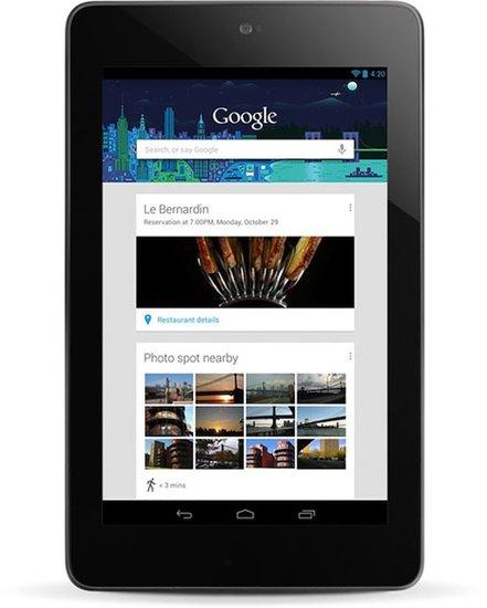 谷歌和华硕计划推出廉价版Nexus 7   最低售价99美元