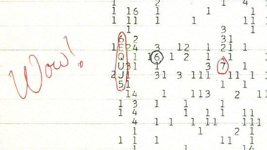揭秘1977年截获的疑似外星智慧生物通讯信号