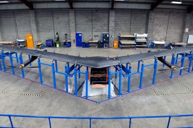 Facebook为提供互联网连接服务开始造飞机了