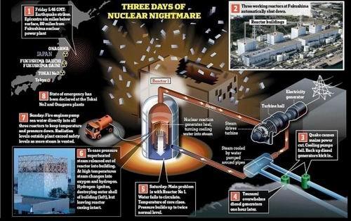 科学家称日本不会重蹈切尔诺贝利核事故覆辙