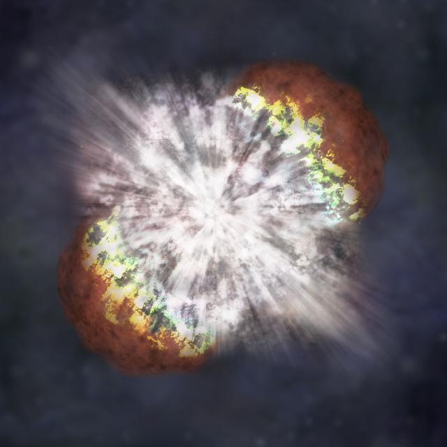 银河系中心地带发现元老级恒星