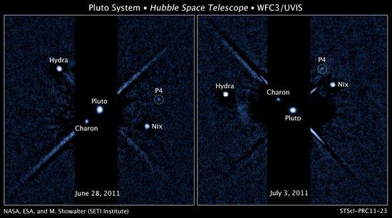 哈勃望远镜观测到冥王星新卫星 总数达到5颗