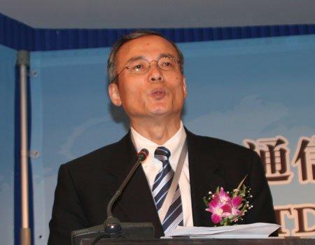 图文:中国移动集团公司沙跃家副总裁