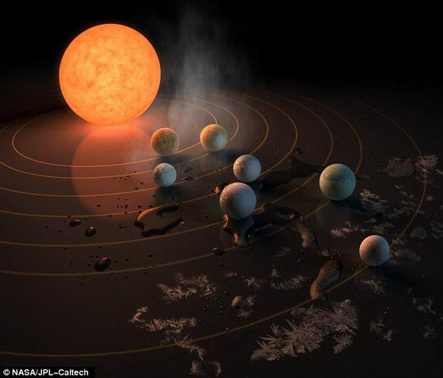 """""""冰荒行星""""火山喷发氢气有助于孕育生命"""
