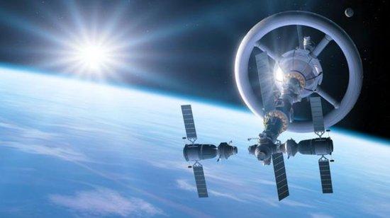 探索未来空间站雏形:巨型旋转环造重力场