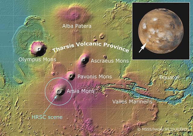 """5000万年前 火星火山开启""""静音模式"""""""