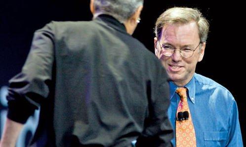 谷歌董事长追忆乔布斯:激情、勇敢和机智(图)