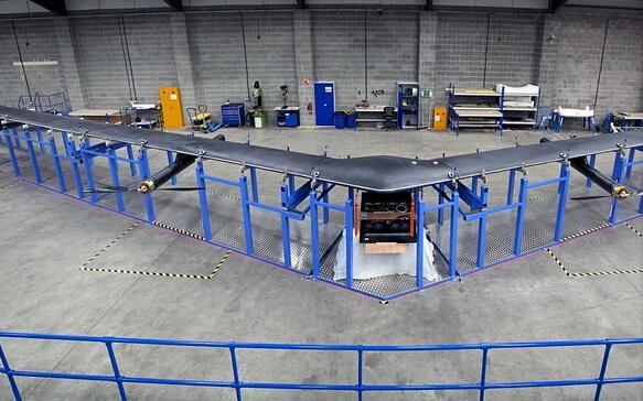 FB与谷歌抢滩无人机:欲通过无人机传输网络