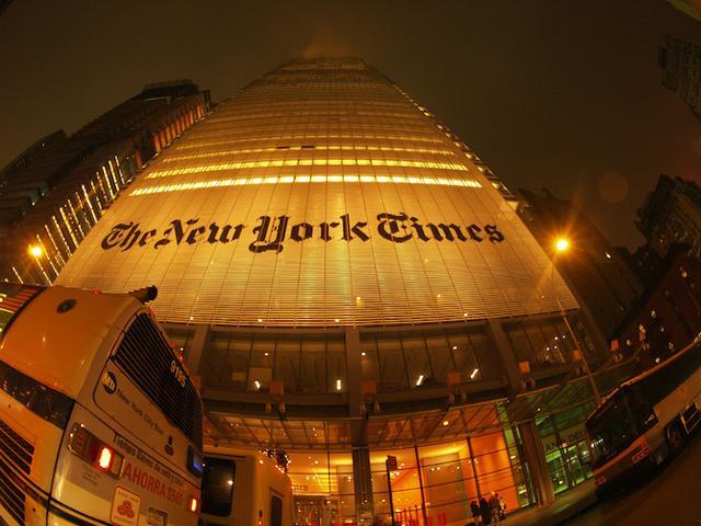 《纽约时报》收购一家VR公司 准备用VR打广告