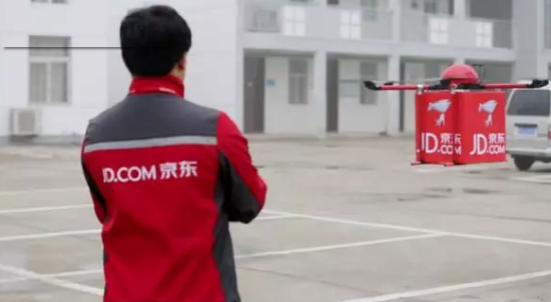 京东想用无人机在农村地区送货