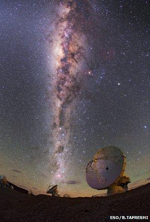 生命诞生前奏?距地2.7万光年现复杂有机分子