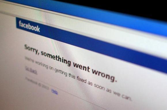 Facebook多国服务短时间中断