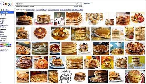 谷歌GOOGLE图片搜索测试新搜索结果页