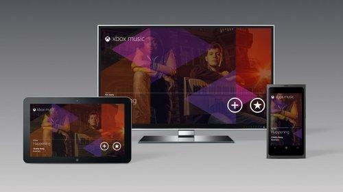 微软将推Xbox Music流音乐服务 与Spotify竞争