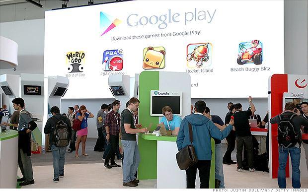 黑客攻击Google Play导致系统两次崩溃