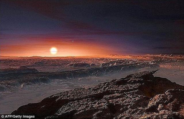 """研究称比邻星b早期是沙漠星球 像""""活地狱"""""""