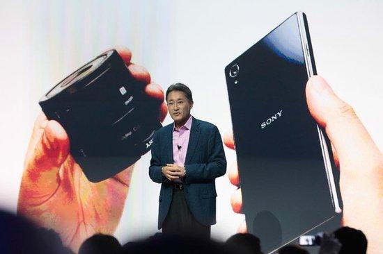 索尼欲借Xperia Z1超越联想跻身智能手机前三甲