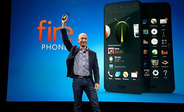 亚马逊Fire Phone一个月仅售出3万多部