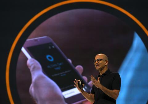 微软:我们想从苹果智能手机业务中分一杯羹