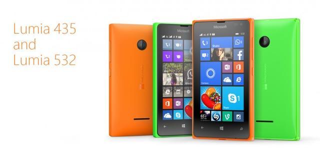 微软发布两款廉价Lumia手机:仅售80美元