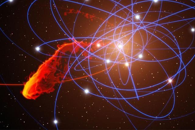 银河系大黑洞很无奈 到嘴的猎物逃走了