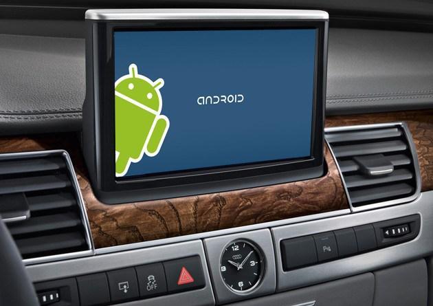 传说中的谷歌汽车版Android界面