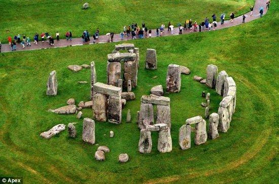 巨石阵曾是远古墓地 最新挖掘63具古人类尸骨