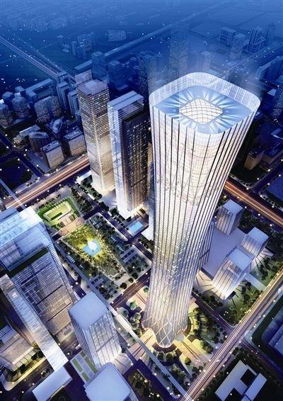 北京未来第一高楼欲开工 国贸三期将超五百米
