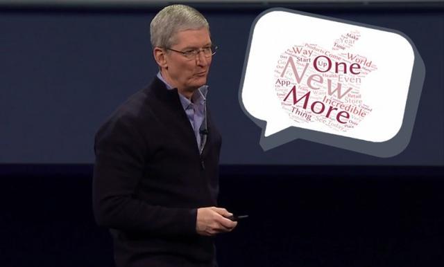 学会用这些词,你也能开苹果那样的发布会