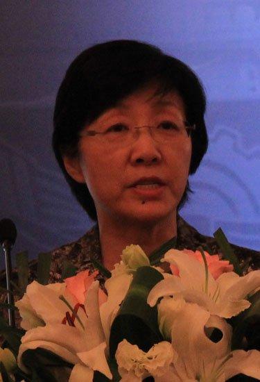 图文:安部网络安全保卫局副局长邓宏敏讲话