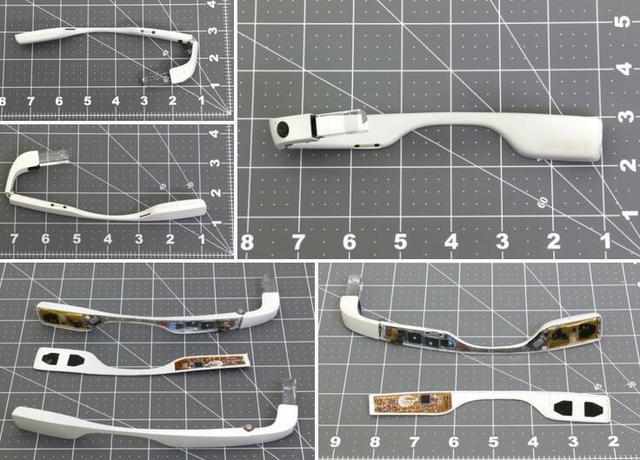 谷歌眼镜企业版真机图曝光