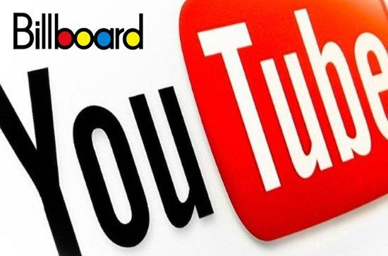 Billboard单曲榜首次将Youtube纳入参考因素
