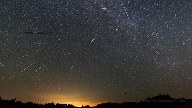 猎户座流星雨21日极大:22日凌晨至黎明观测最佳