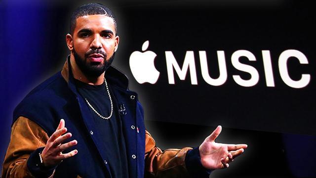 苹果让公鸭Drake新专辑播放量超越Spotify,它放了哪些大招?