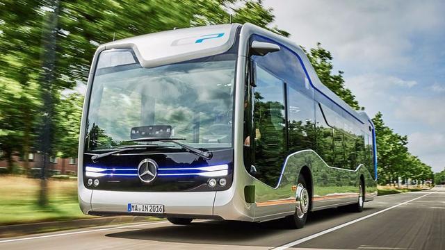 奔驰推出自动驾驶巴士 已成功在荷兰街道驰骋