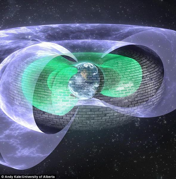 """科学家发现地球有神秘""""隐形保护盾""""保护"""