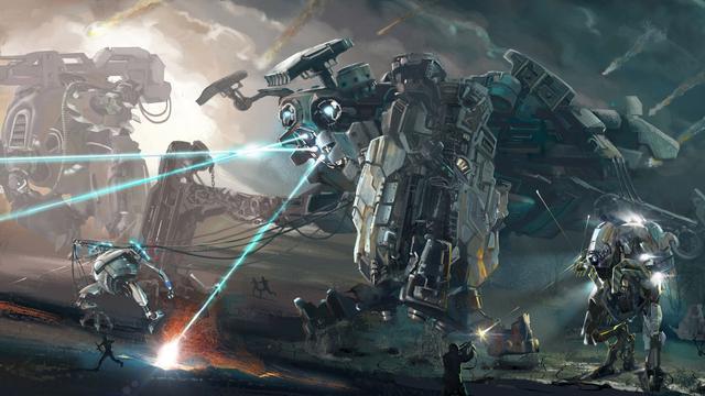 人工智能和机器人将成为未来战场的重要力量