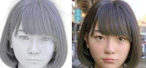 照片中女孩是真人还是动画?日本CGI技术已可以假乱真
