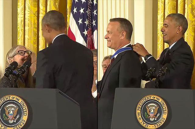 美国阿波罗登月飞船程序员获得总统自由勋章